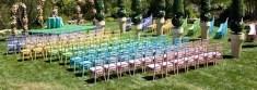 Multicolored chiavaris