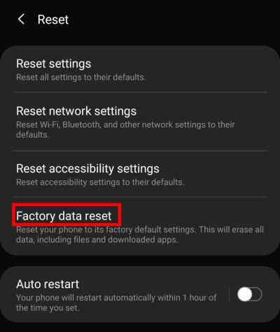 How to Restore Factory Settings Samsung Galaxy S9 and S9 Plus