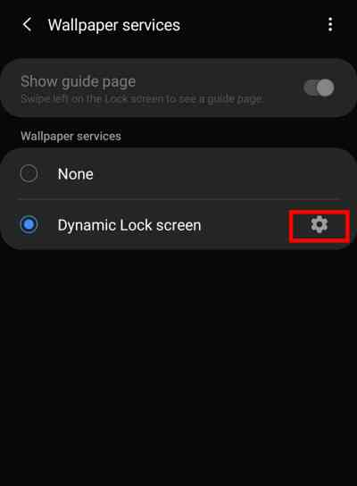 How to Set & Customize Dynamic Lock Screen on Samsung ( Android 10)