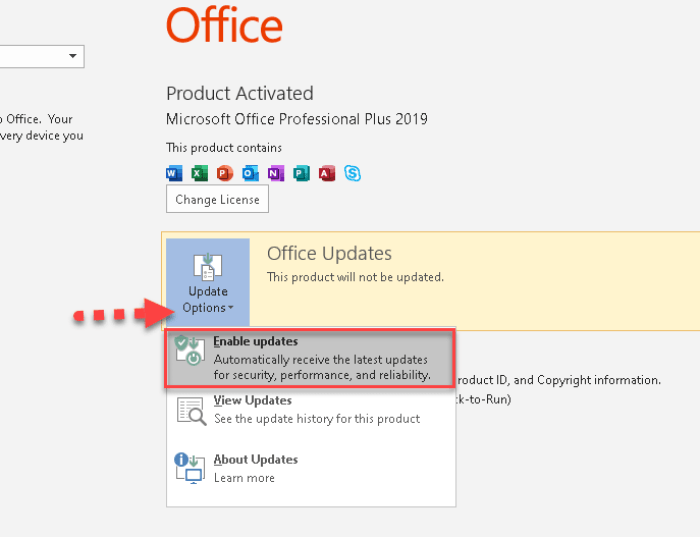How to Disable Office 2019 Updates (Office 2016 & 365) on Windows 10
