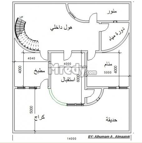 خرائط منازل عراقية 125م خرائط منازل عراقية 200 متر تصماميم