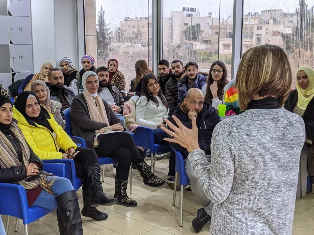 advanced Arabic speaker in spoken Arabic in Amman Jordan