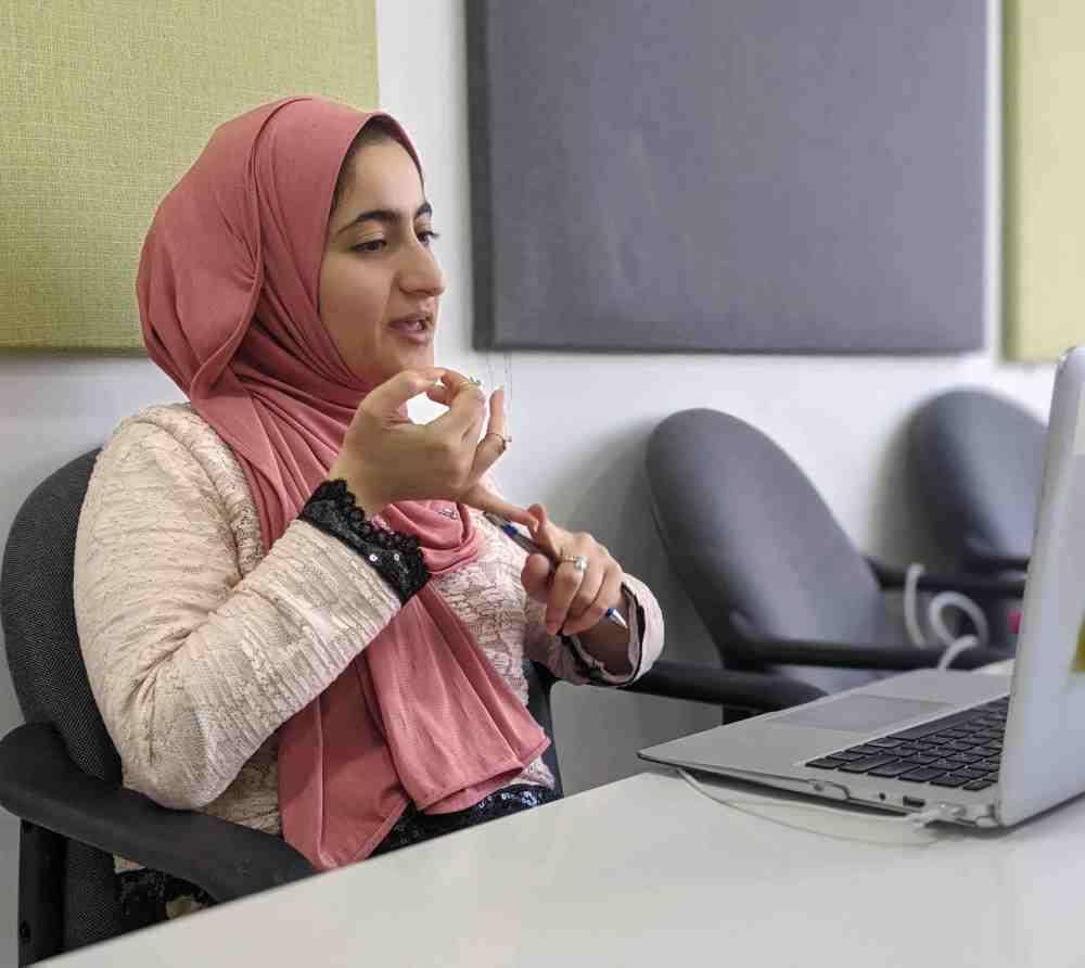 Online spoken Arabic lesson