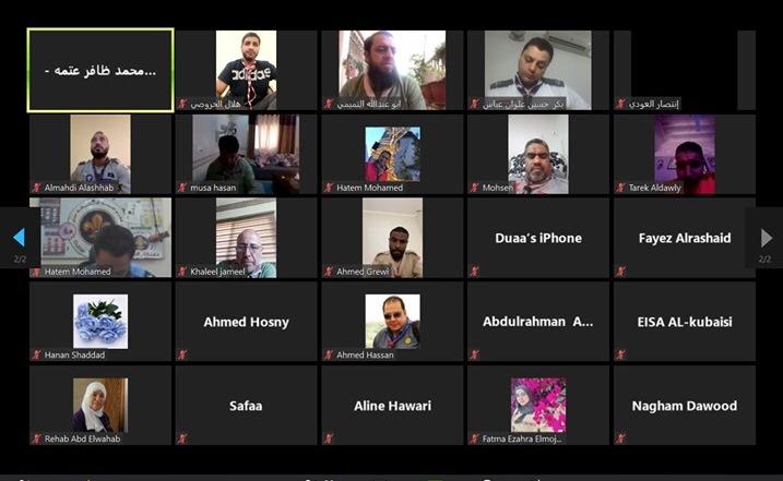 جمعية الكشافة تُشارك في ورشة ( الراشدون في الكشفية ) العربية