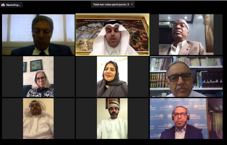 مكتب البرلمان العربي يقر عدداً من القرارات بشأن تداعيات انتشار #كورونا في العالم العربي
