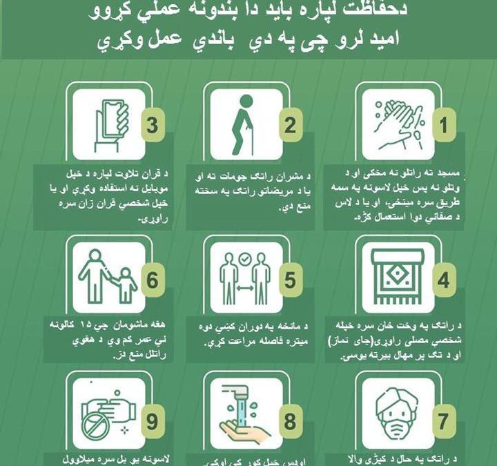 الشؤون الإسلامية بالمدينة المنورة تترجم التعليمات والإجراءات الاحترازية الخاصة بفتح المساجد بثمان لغات عالمية