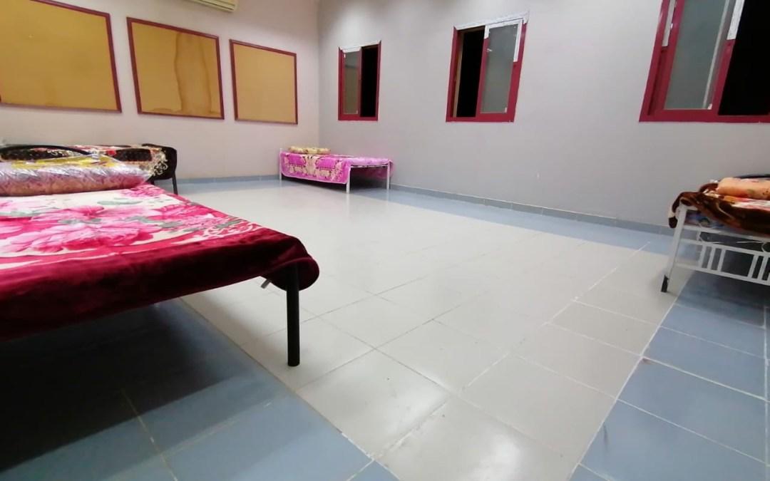 """""""أمانة عسير"""" تدعم صحة عمال النظافة بـ 320 سرير و بطانية"""