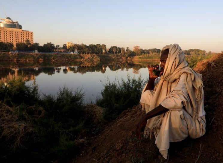 مخاوف عند التقاء النيلين في السودان من أن يُضعف سد النهضة تدفق المياه