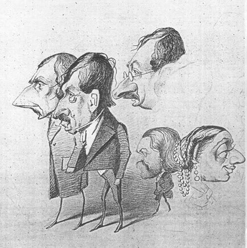 فن الكاريكاتير  Caricature