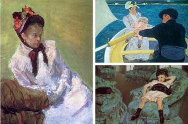 ماري كاسات MaryCassatt ( فنانة انطباعية).