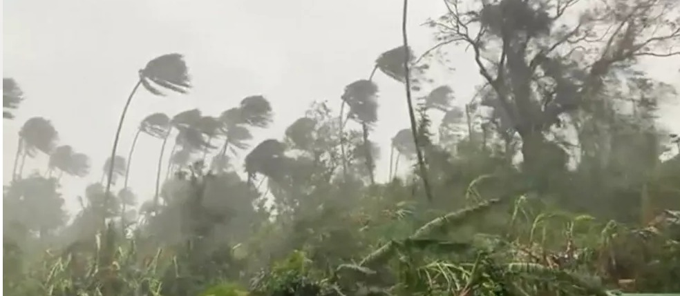 """قتلى وخسائر كبيرة بسبب إعصار """"غوني"""" في الفلبين."""