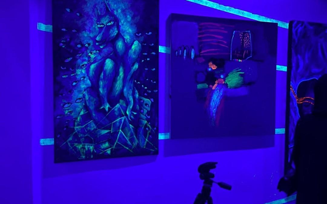 """افتتاح المعرض الفني """"مضوي"""" بمركز أدهم"""