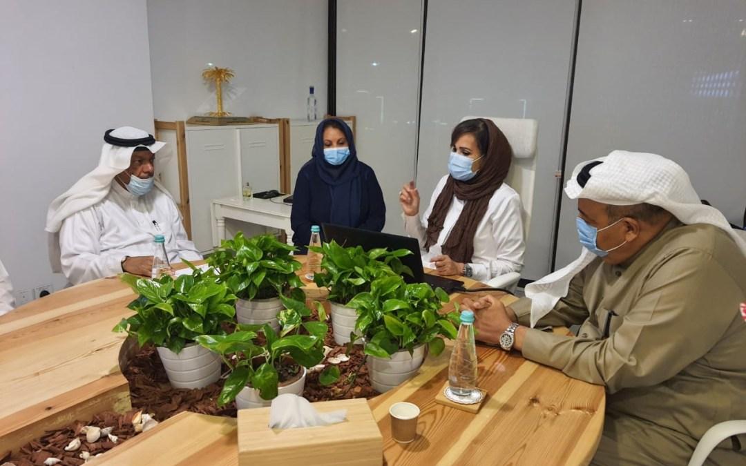 جمعية البيئة السعودية تستضيف مجموعة مجتمعية