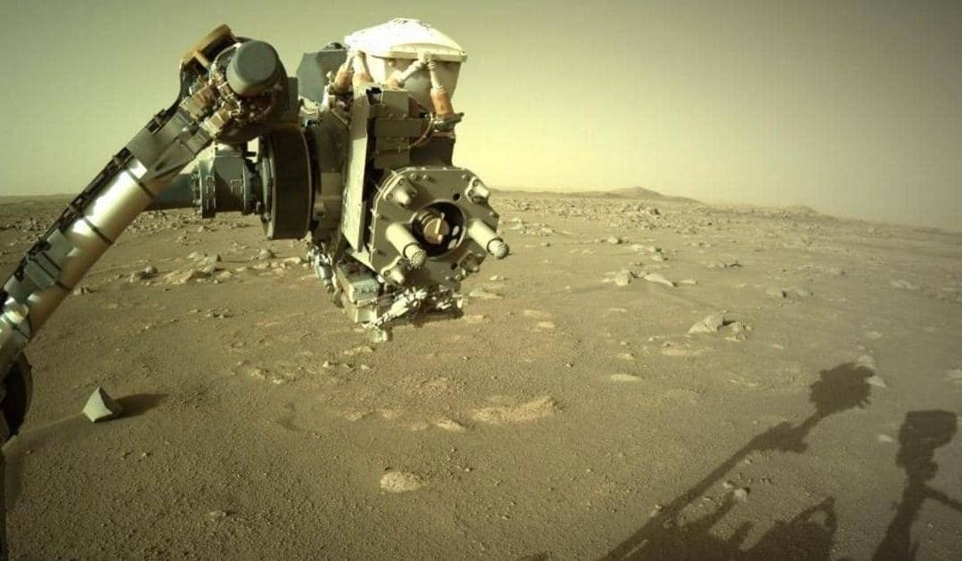 """""""برسيفرنس"""" الفضائية ترسل العناصر التحليلية الأولى لصخور المريخ"""