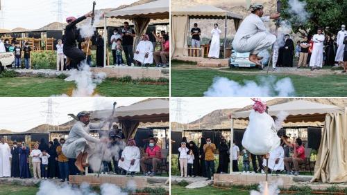 تعرف على رقصة التعشيرة السعودية