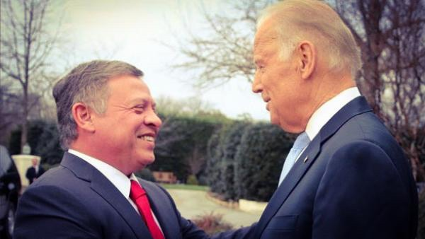 بايدن: لست قلقًا من الأوضاع في الأردن ولدى الملك عبدالله صديق في أمريكا