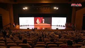 افتتاح المؤتمر الدولي للتحول الرقمي في دمشق .