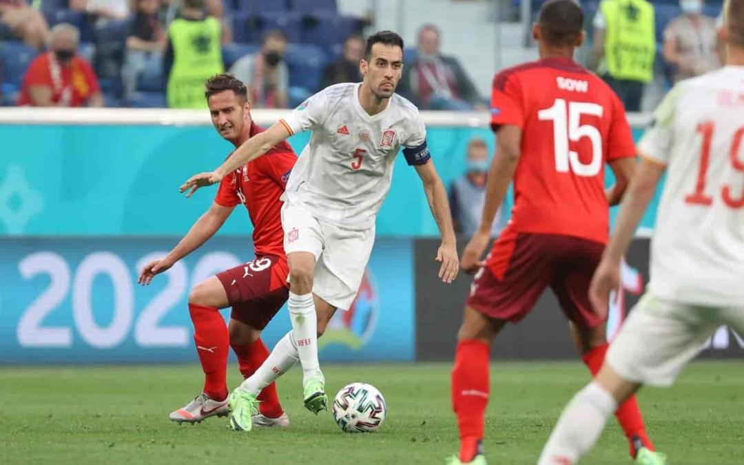 إسبانيا تتأهل بصعوبة إلى نصف نهائي يورو 2020