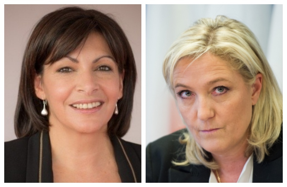 «مارين لوبان» ورئيسة «بلدية باريس» تنافسان «ماكرون» في الانتخابات الفرنسية
