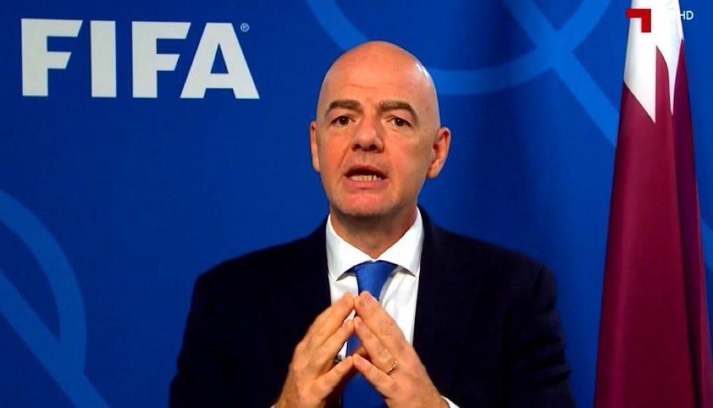 جياني إنفانتينو: تنظيم كأس العالم كل عامين لن ينال من مكانة البطولة