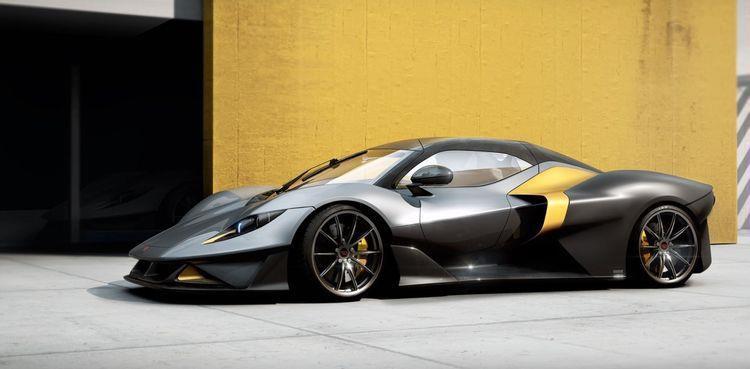 """""""بيرمات"""" الإيطالية تكشف النقاب عن سيارتها GT الرياضية بقوة 400 حصان.."""