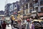 Mumbai street scene, India