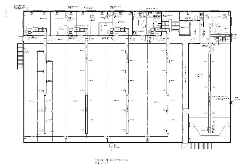 medium resolution of hvac second floor