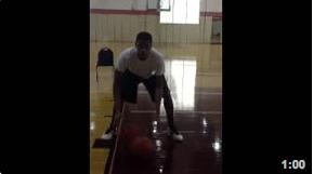 Tre Harris Ball Handling Drill