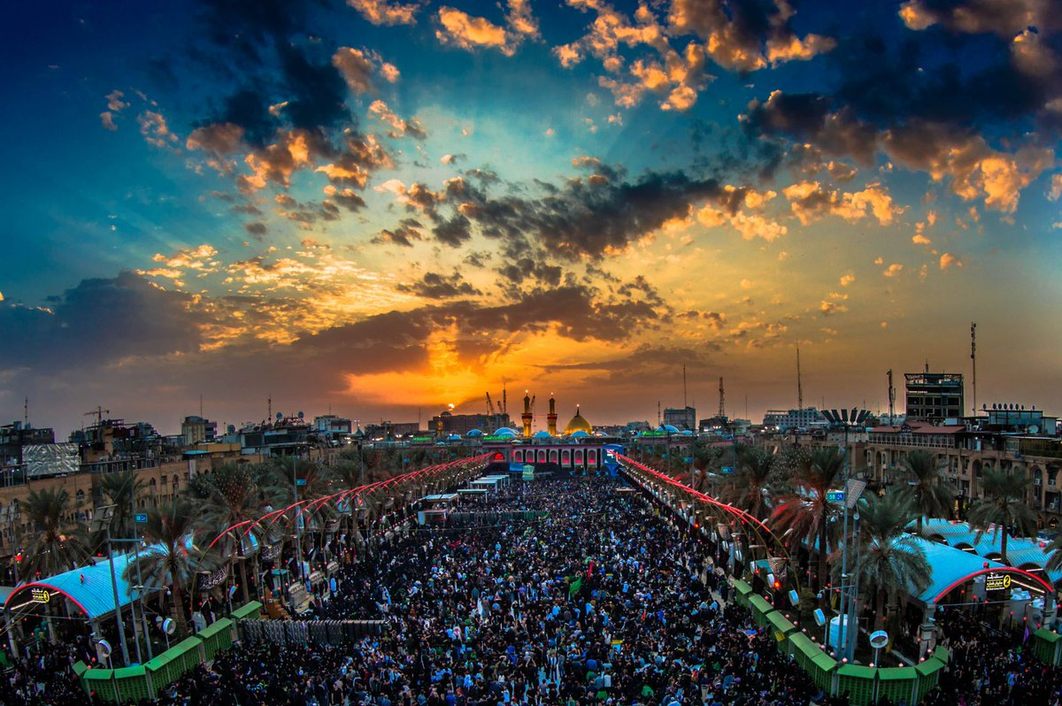 Millions gather for the Arbaeen commemorations in Kerbala, Iraq