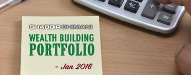 My Wealth Building Portfolio Report And Update – January 2016
