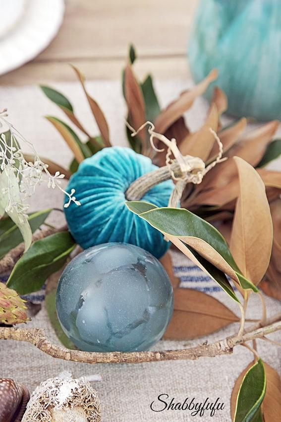Magnolia Garland DIY For Your Fall Table  shabbyfufucom