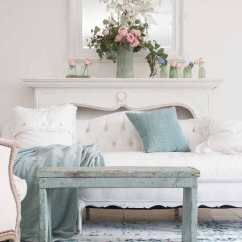 Coastal Design Living Room Furniture Deals Seafoam Green In A Style Shabbyfufu Com Shades Of Blue And Also Make For The Perfect Summer Accent Colors My Book I Did Little Bit Restyling While