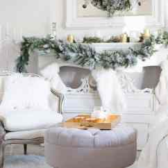 Elegant Christmas Living Room Decor Sofa Set Designs For Small And Simple In White Shabbyfufu Com