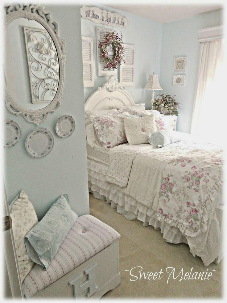 Le pi belle camere da letto in stile shabby chic  Il