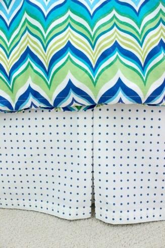 finished bedskirt pleat 600 rev