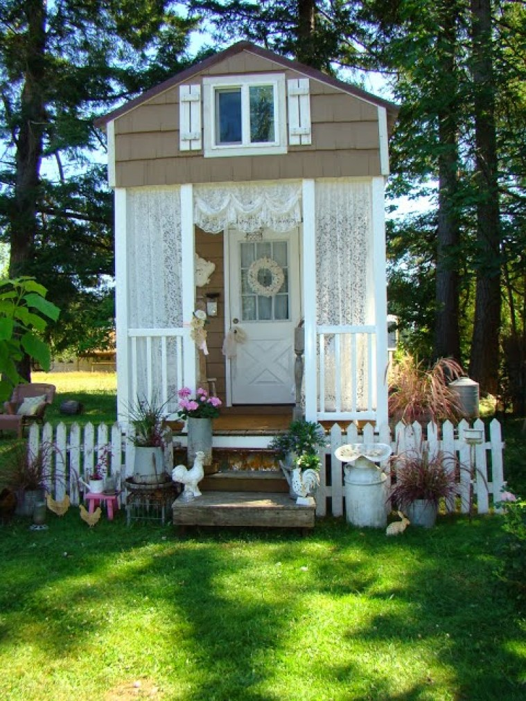 Shabby Chic Cottage Exterior 1