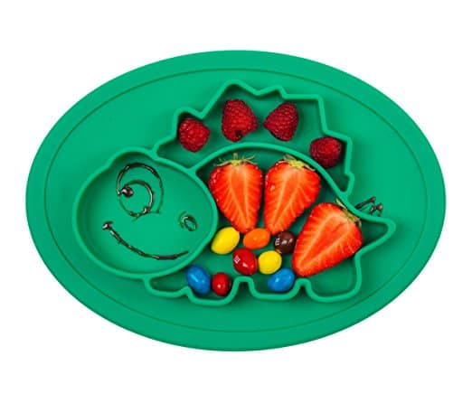 Picky Eater Dino Plate