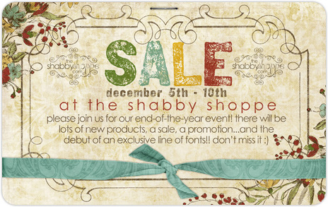 SALE at theshabbyshoppe.com!!!