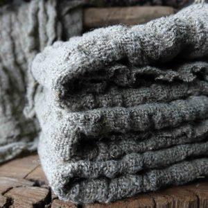 Linnen doeken/plaids en kussens