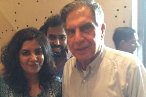 yourstory shradha sharma and Ratan Tata