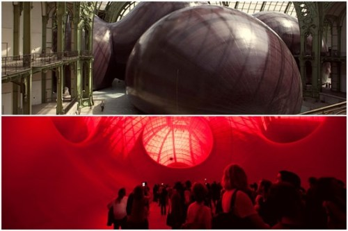 Leviathan Anish Kapoor grand Palais France