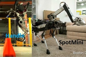 Boston Dynamics Handle & Spotmini