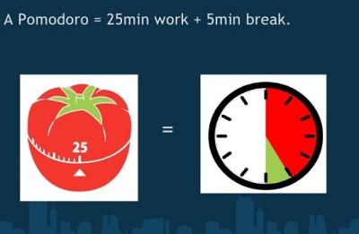 Pomodoro timer app