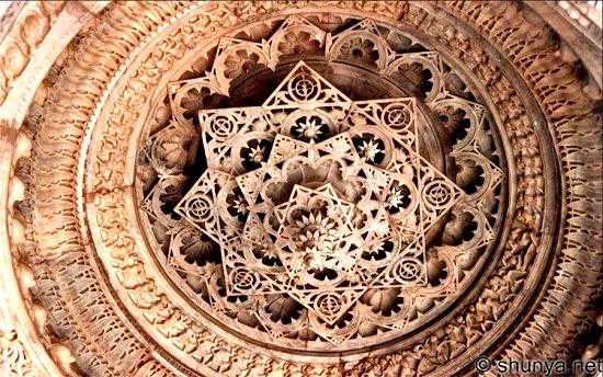 Dilwara Temple roof image