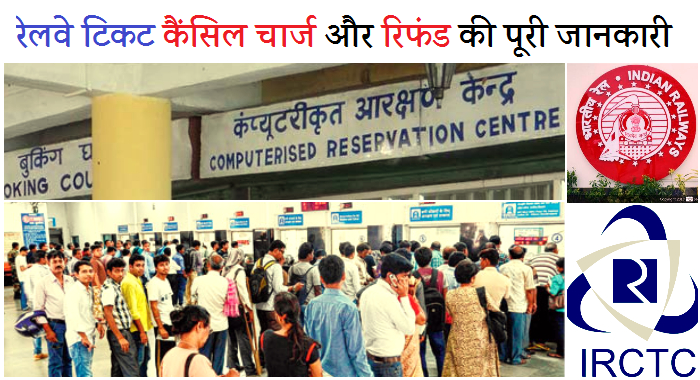 Ticket Cancellation rules in hindi