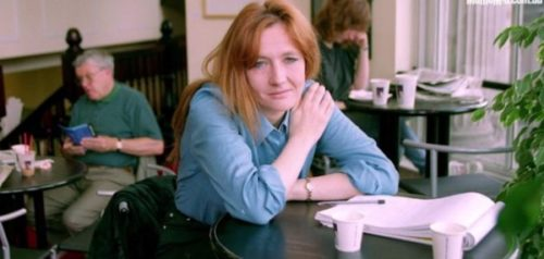 J K Rowling Struggling days image