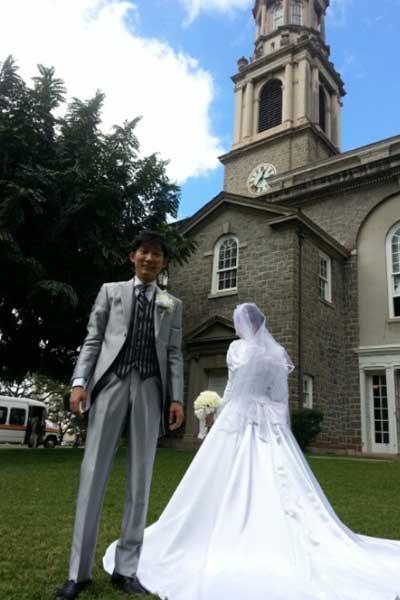 ノンスタ石田 結婚式