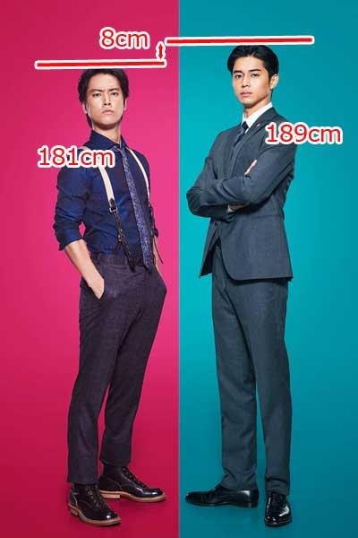 東出昌大 桐谷健太 身長比較 ケイジとケンジ