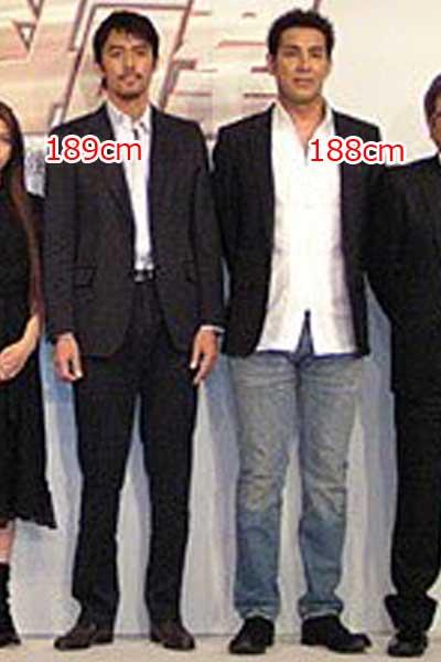阿部寛 宇梶剛士 身長 比較