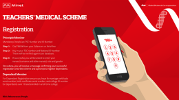 Minet teachers' medical scheme